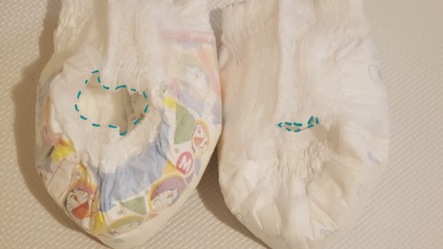 マミーポコとグーンプラスのオムツ比較