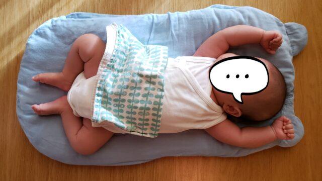 手作りのトッポンチーノで眠る赤ちゃん