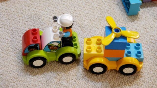 2歳が組み立てたレゴデュプロ