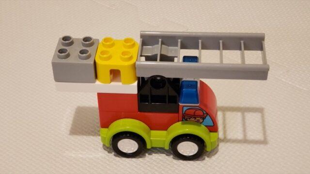 デュプロで作った消防車